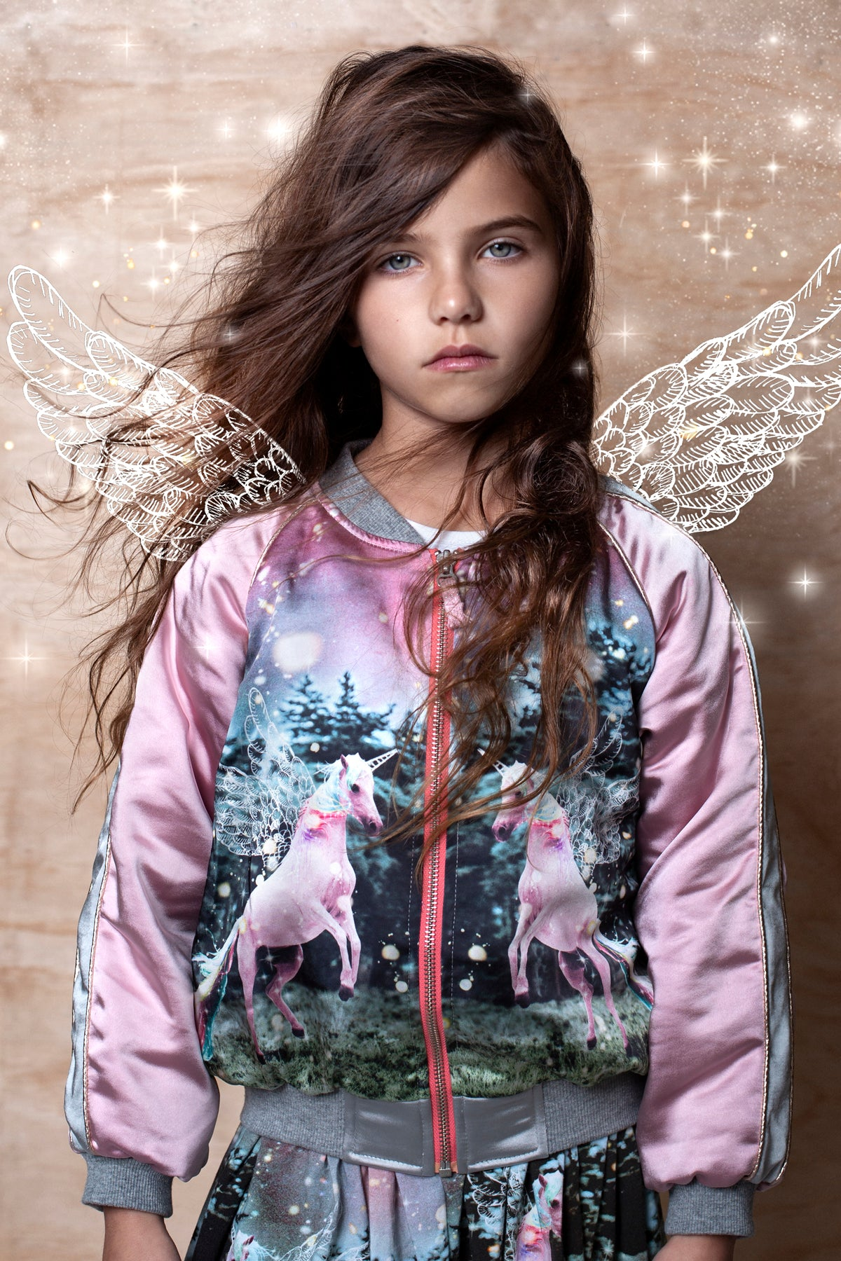 Paper Wings Dusk Bomber Jacket