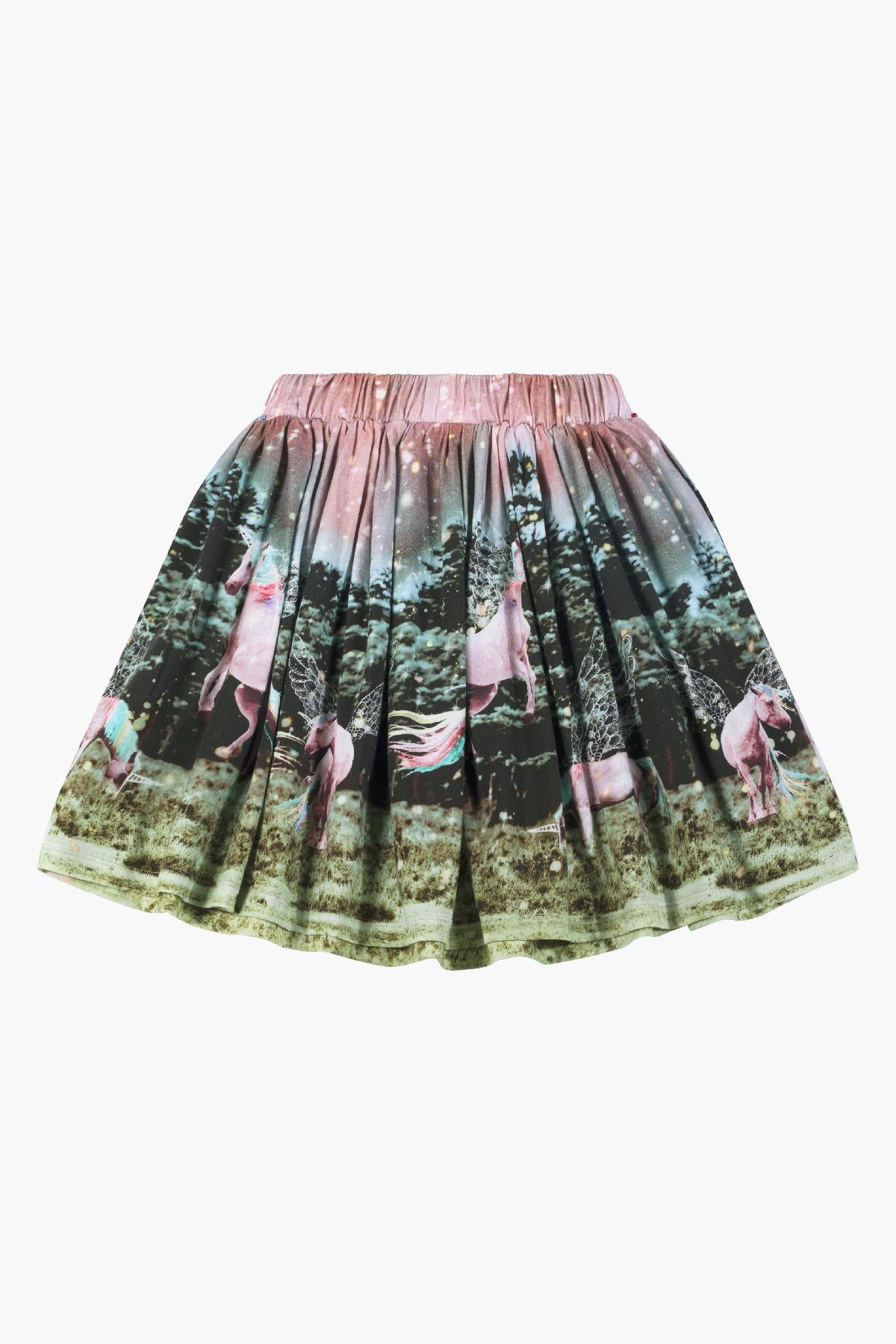 Paper Wings Dusk Border Skirt