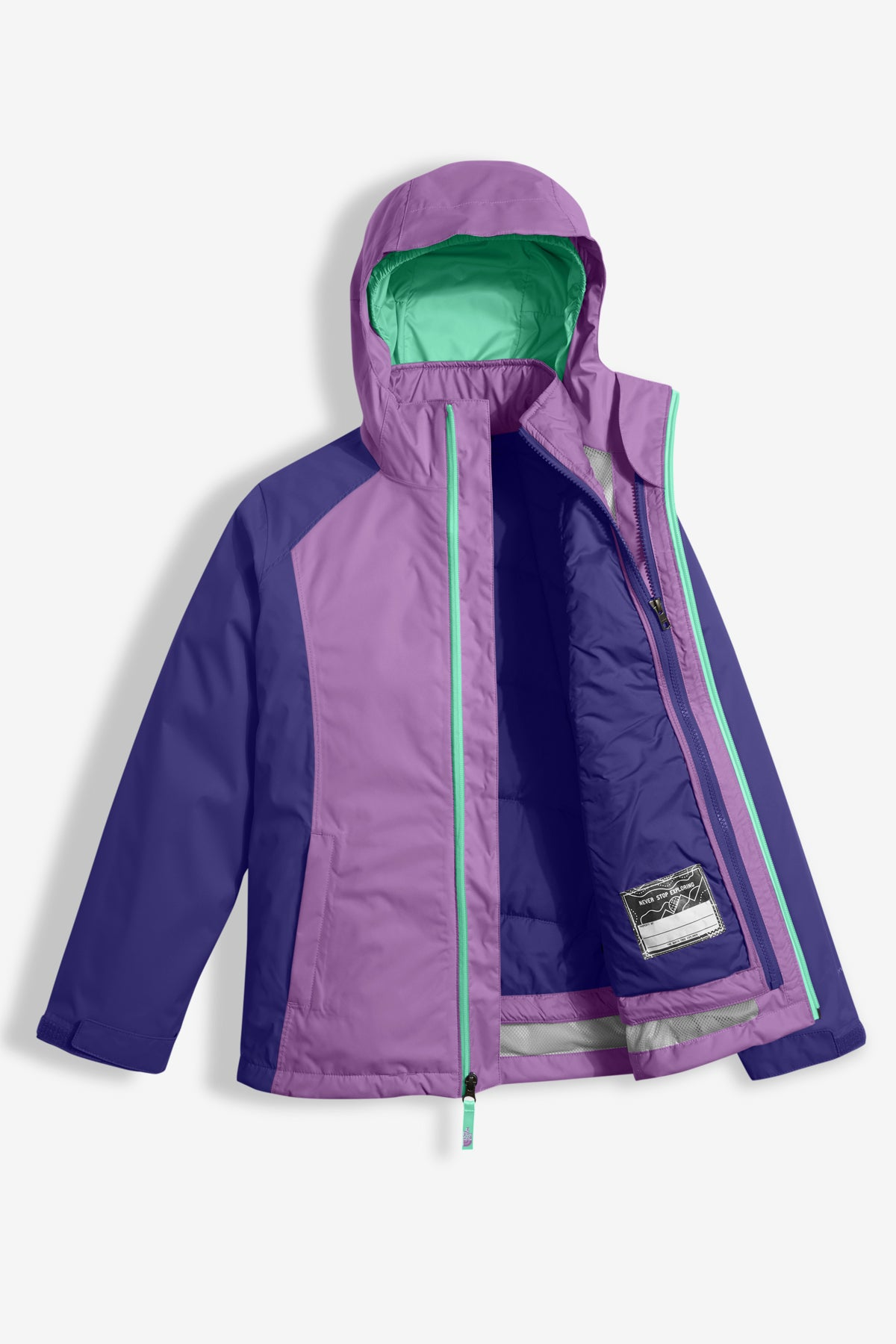 The North Face Girls East Ridge Triclimate Jacket (Size 10/12 left)
