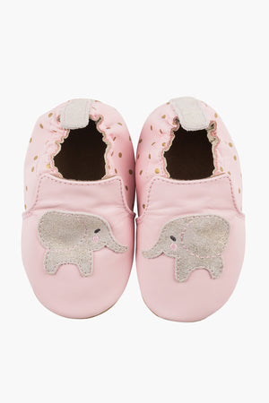Robeez Ella Elephant Baby Girls Shoes