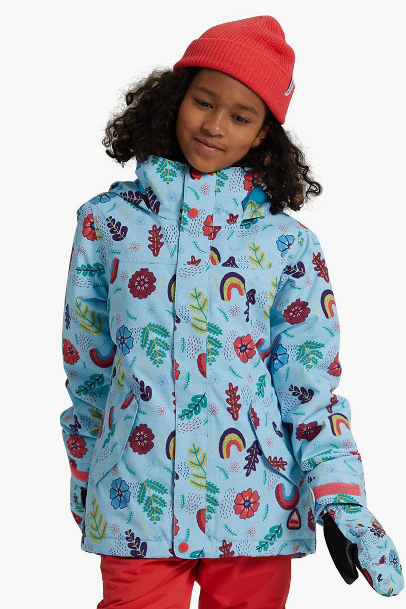 Burton Elodie Girls Jacket - Embroidered Floral