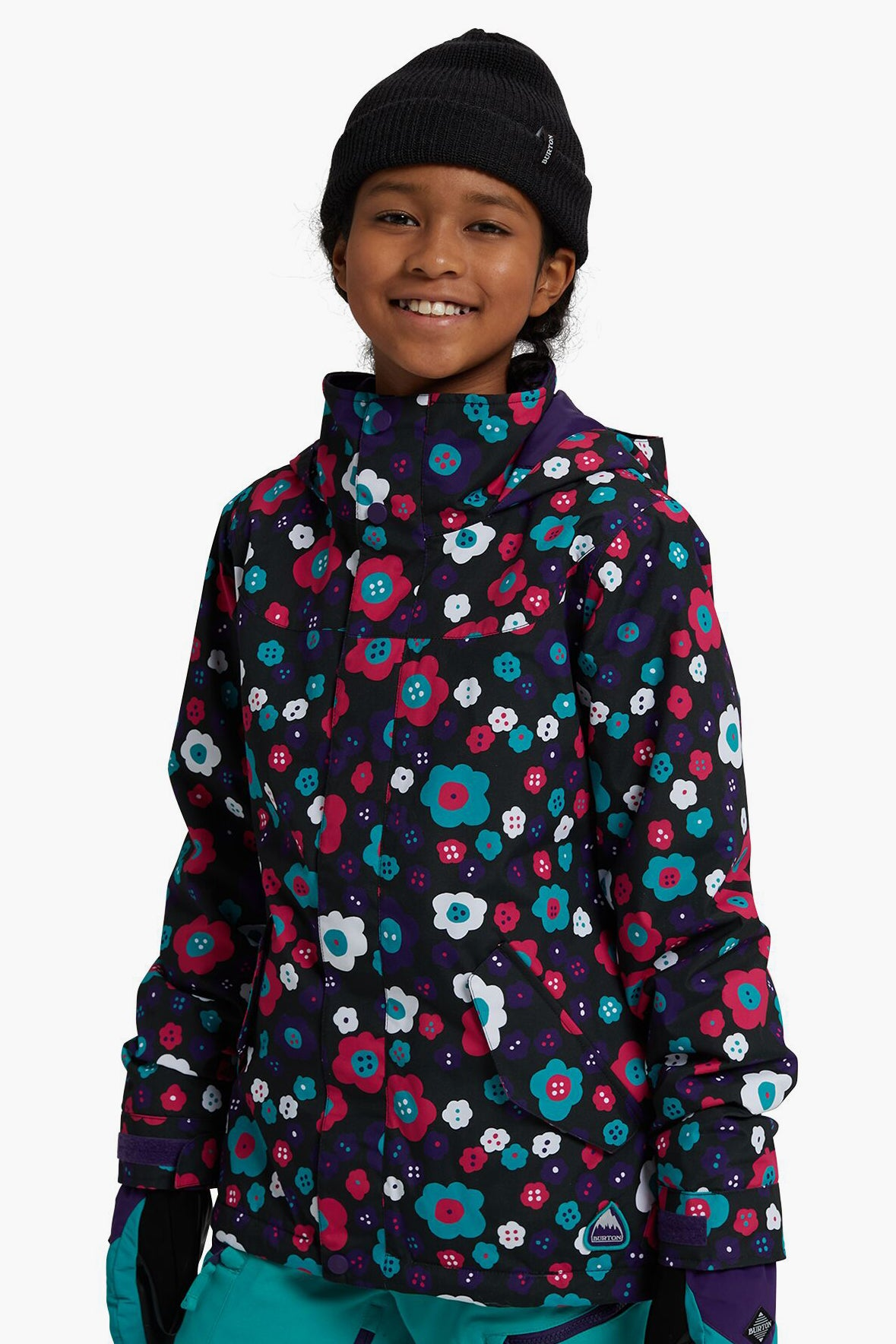 Burton Elodie Girls Jacket - Flower Power