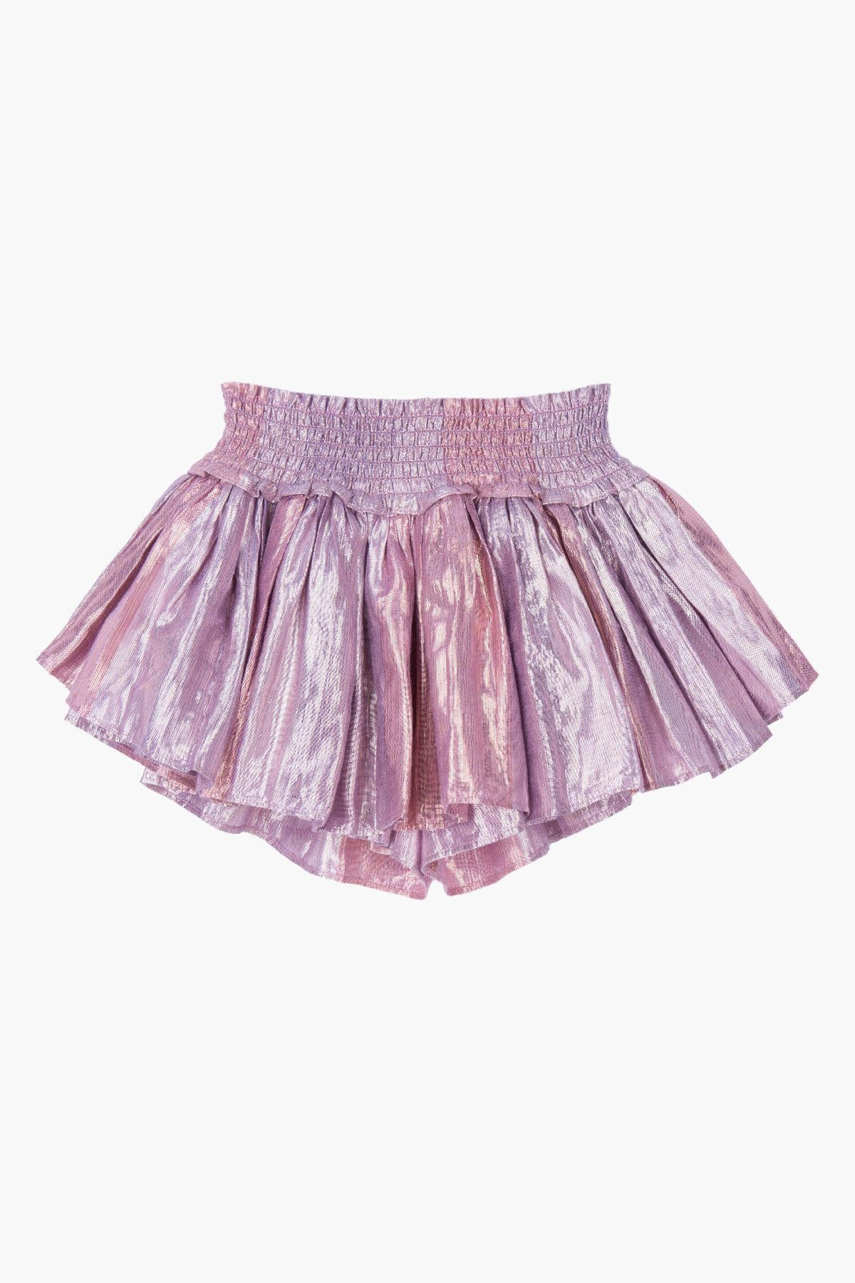 Velveteen Eloise Girls Skort - Purple