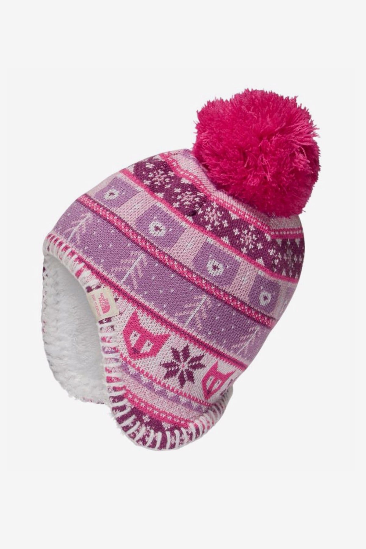 The North Face Baby Faroe Beanie - Pink - Mini Ruby 04d7ac6c7af