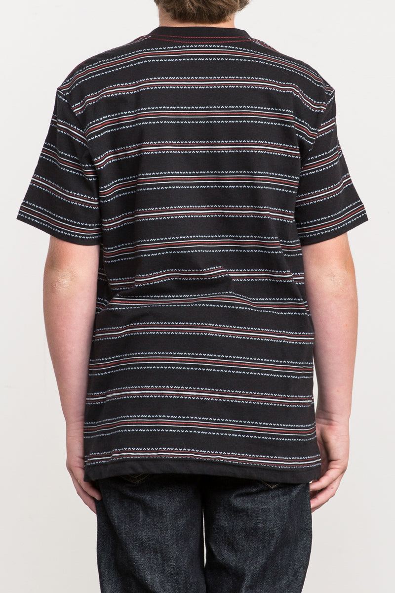 RVCA Feeder Stripe Short Sleeve Tee