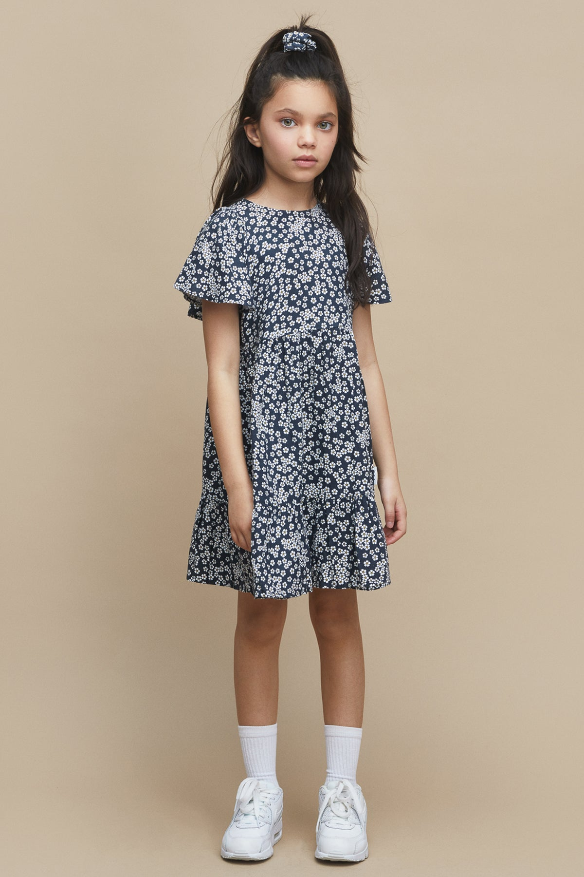 Huxbaby Floral Girls Dress
