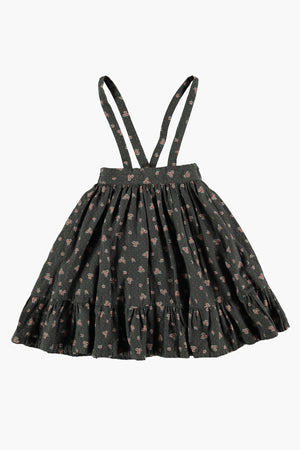 Tocoto Vintage Flower Print Girls Dress