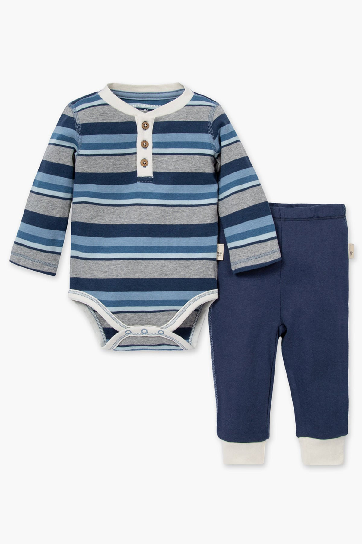 Burt's Bees Foothills Onesie And Baby Pants Set