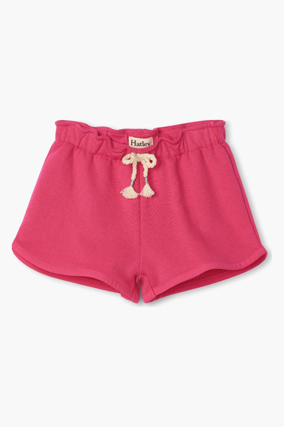 Hatley French Terry Paper Bag Girls Shorts
