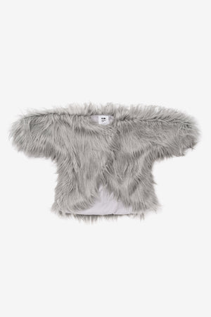 OMAMImini Faux Fur Girls Coat
