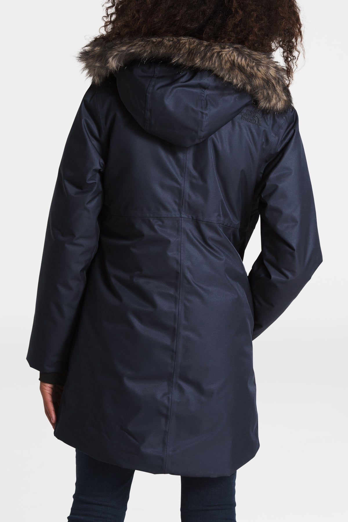 The North Face Girls Arctic Swirl Down Jacket - Montague Blue
