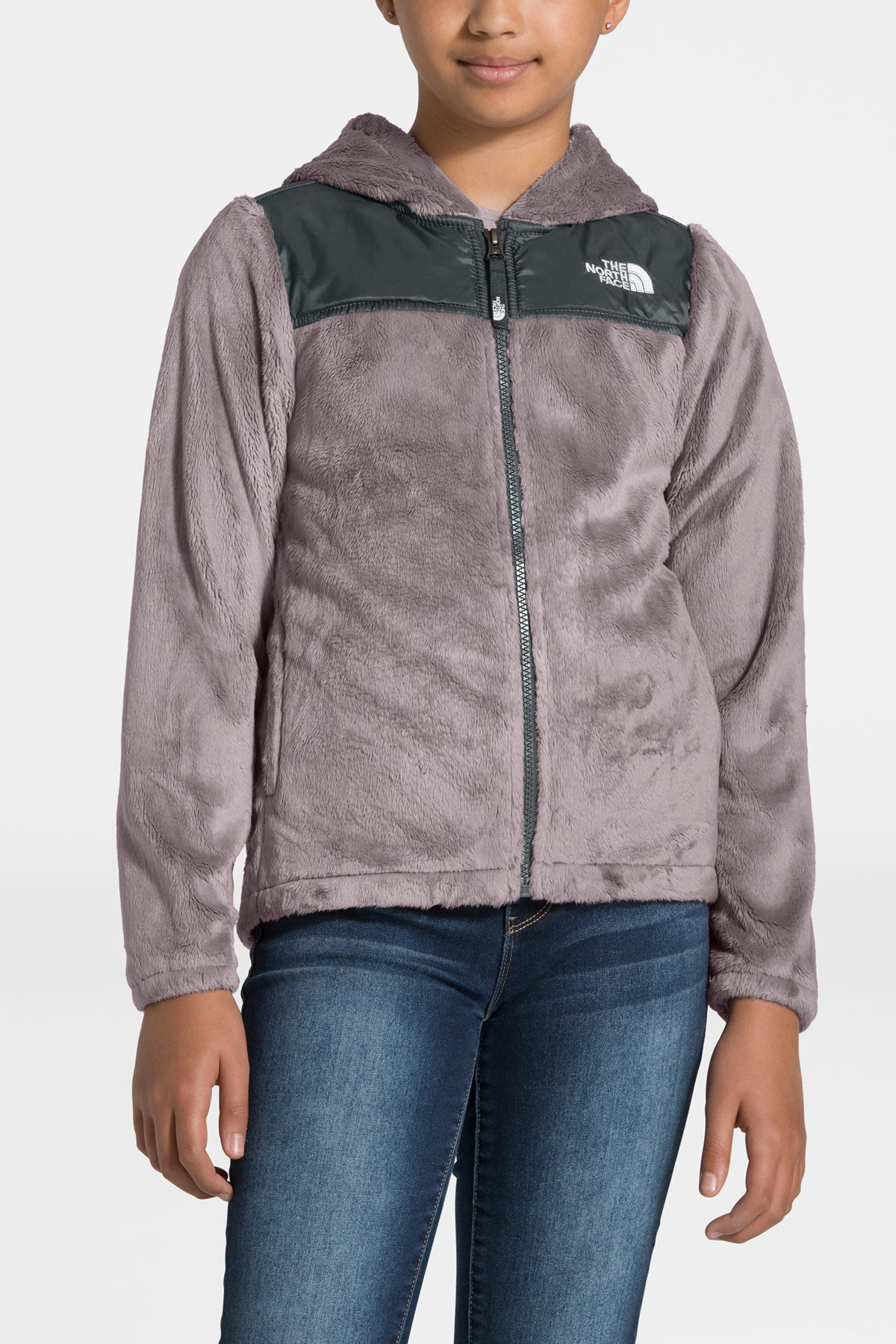 The North Face Girls Oso Hoodie - Ashen Purple