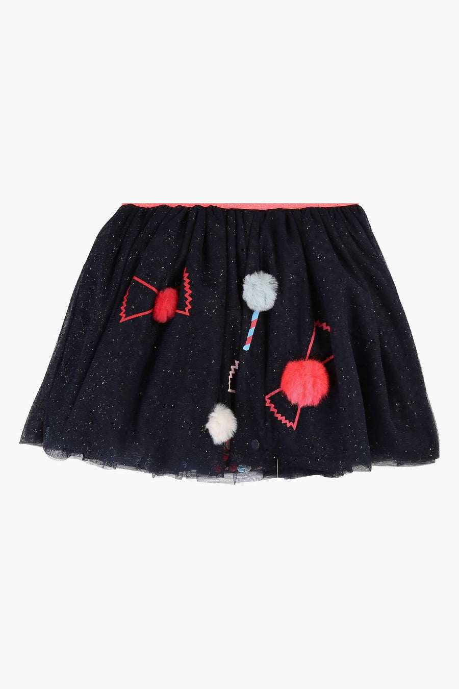 Billieblush Glitter Tulle Girls Skirt