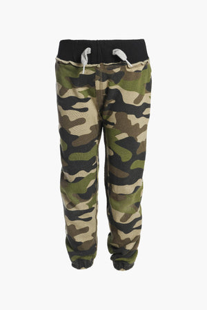 Appaman Green Camo Gym Boys Sweatpants