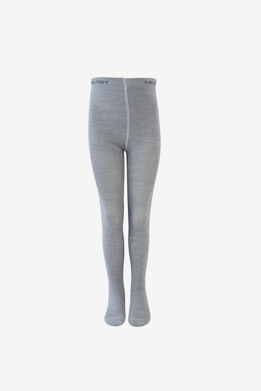 Girls Premium Wool Tights - Grey