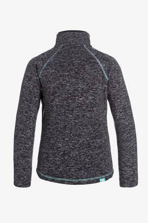 Roxy Harmony Zip Fleece - Charcoal
