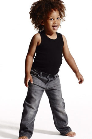 DL1961 Brady Boys Jeans in Light Grey (Sizes 2-7)