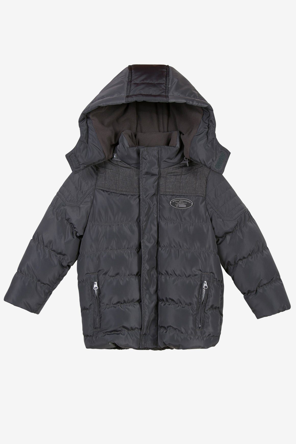 3pommes Anthracite Puffer Jacket