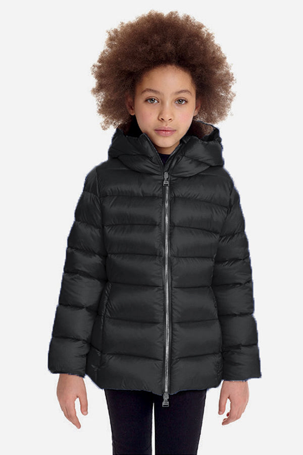 ADD Down Girls Down Jacket - Gunmetal