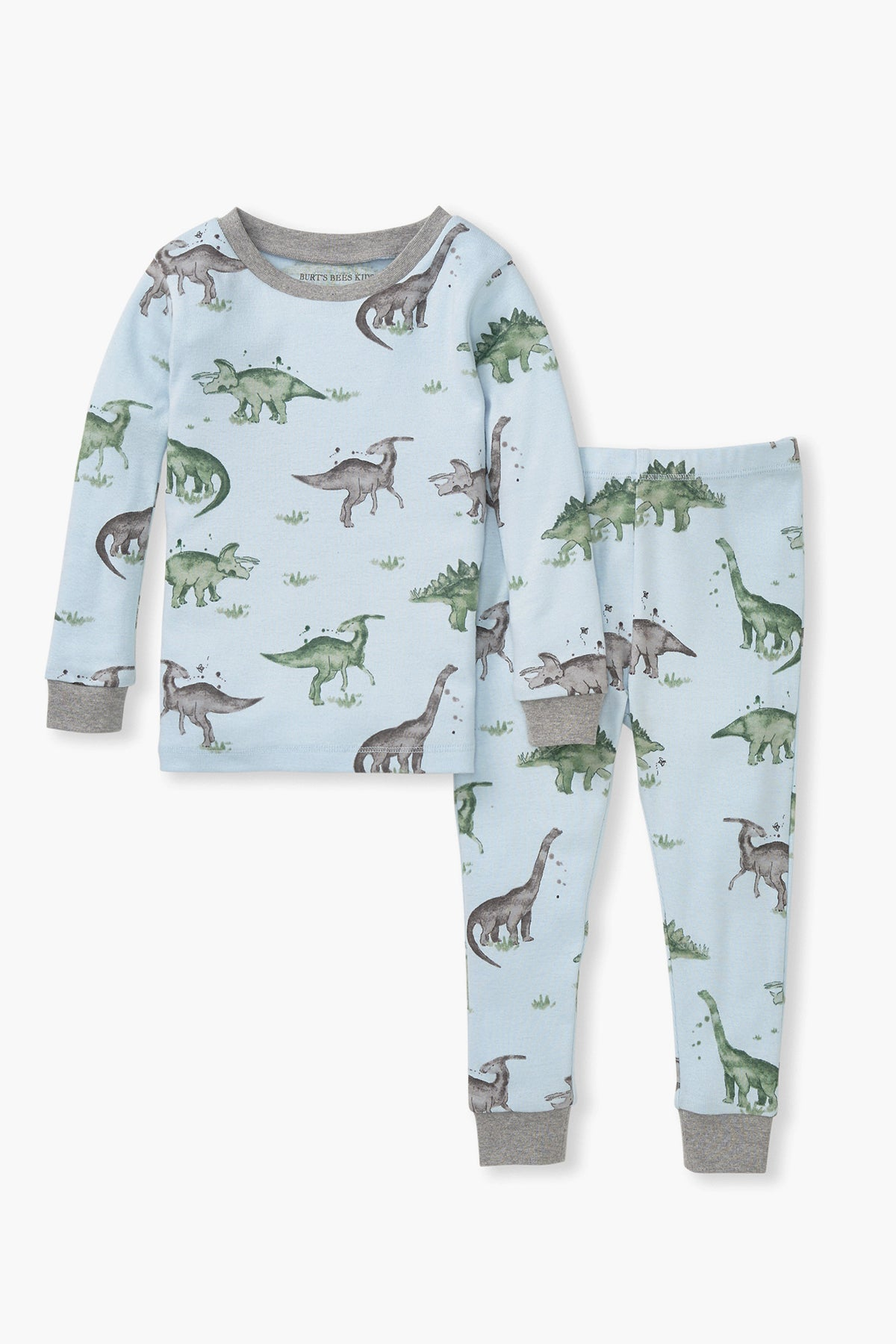 Burt's Bees Happy Herbivores Boys Pajama Set