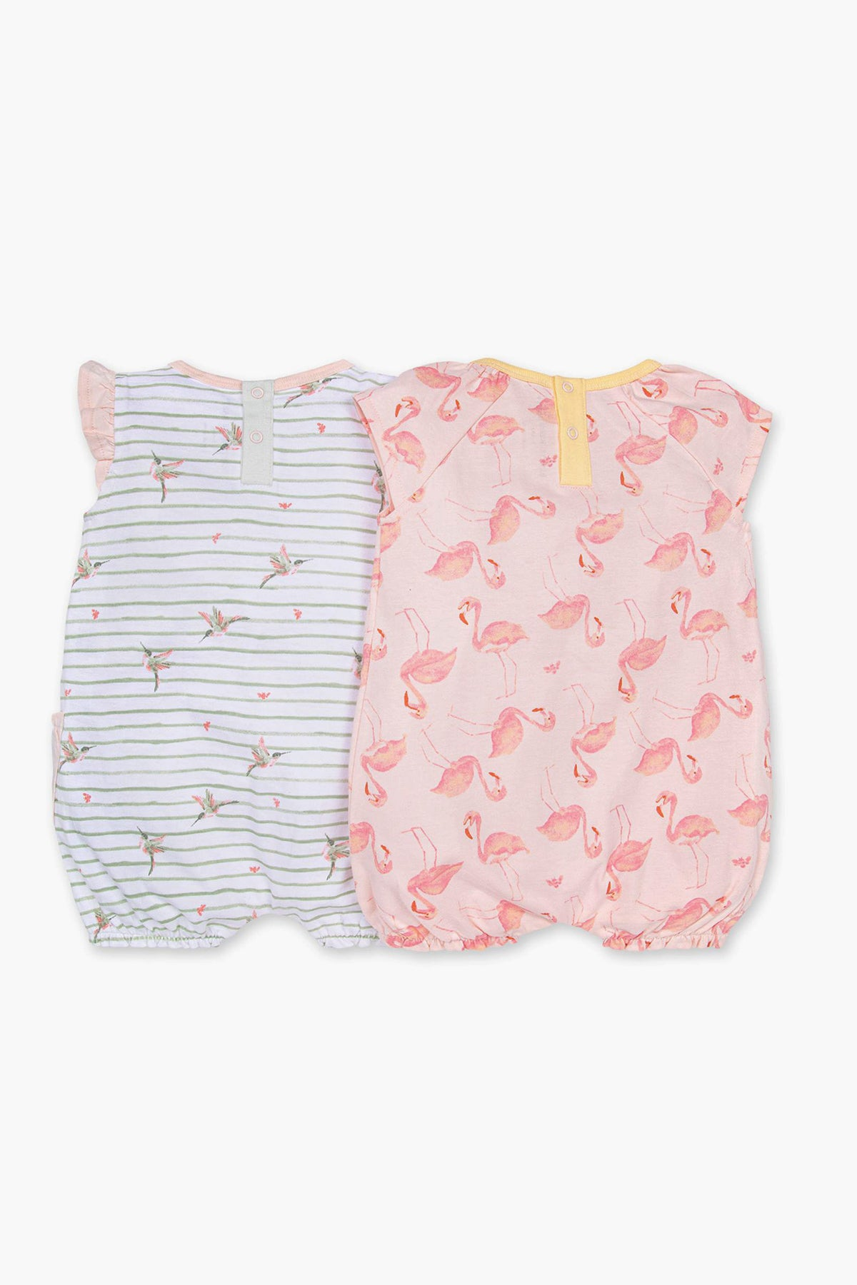 Burt's Bees Happy Hummingbird Bubble 2-Pack Baby Girls Set