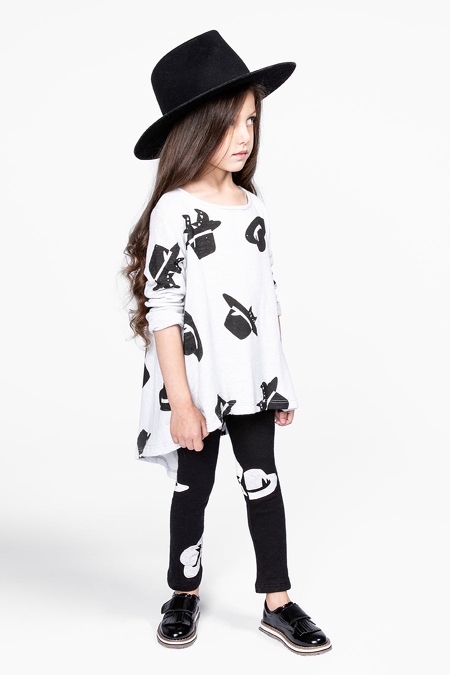 OMAMImini Hat Print Leggings