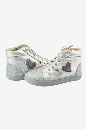 Old Soles Glam Heart High Top