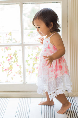 Mimi & Maggie Island Cloud Girls Dress