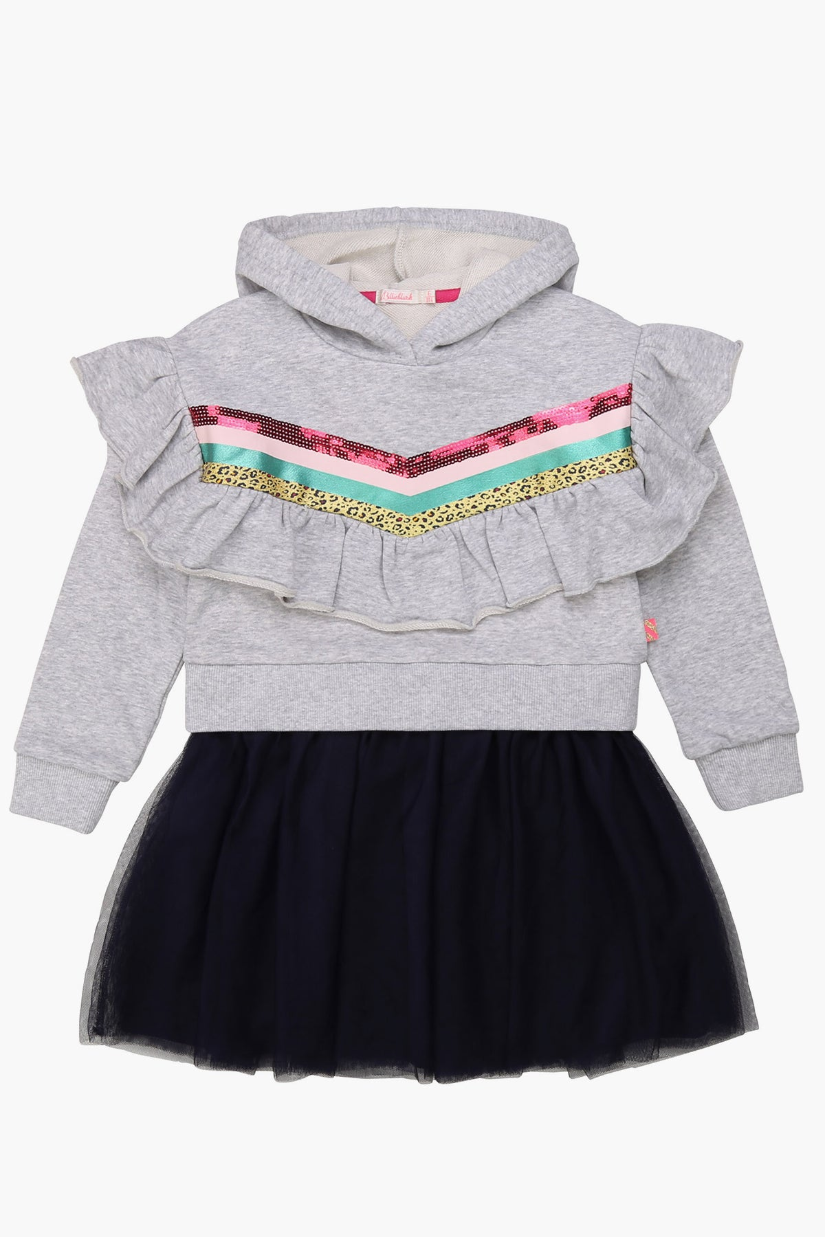 Billieblush Hooded Party Girls Dress