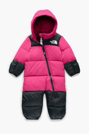 The North Face Infant Nuptse One-Piece - Mr. Pink