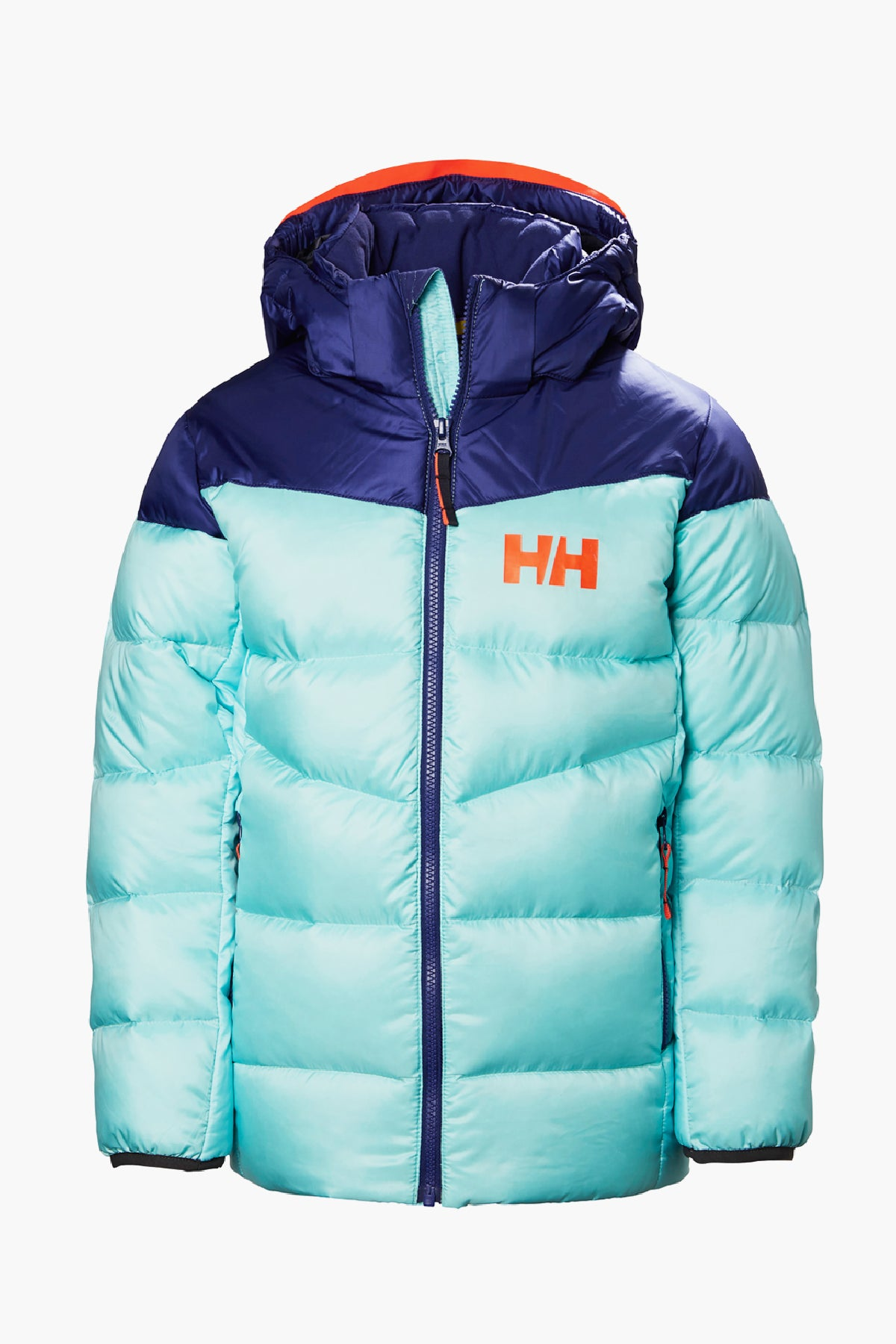 Helly Hansen Jr Isfjord Down Girls Jacket - Glacier