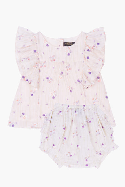 Velveteen Izzy Baby Girls Set