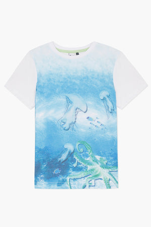 3pommes Jellyfish Boys Shirt