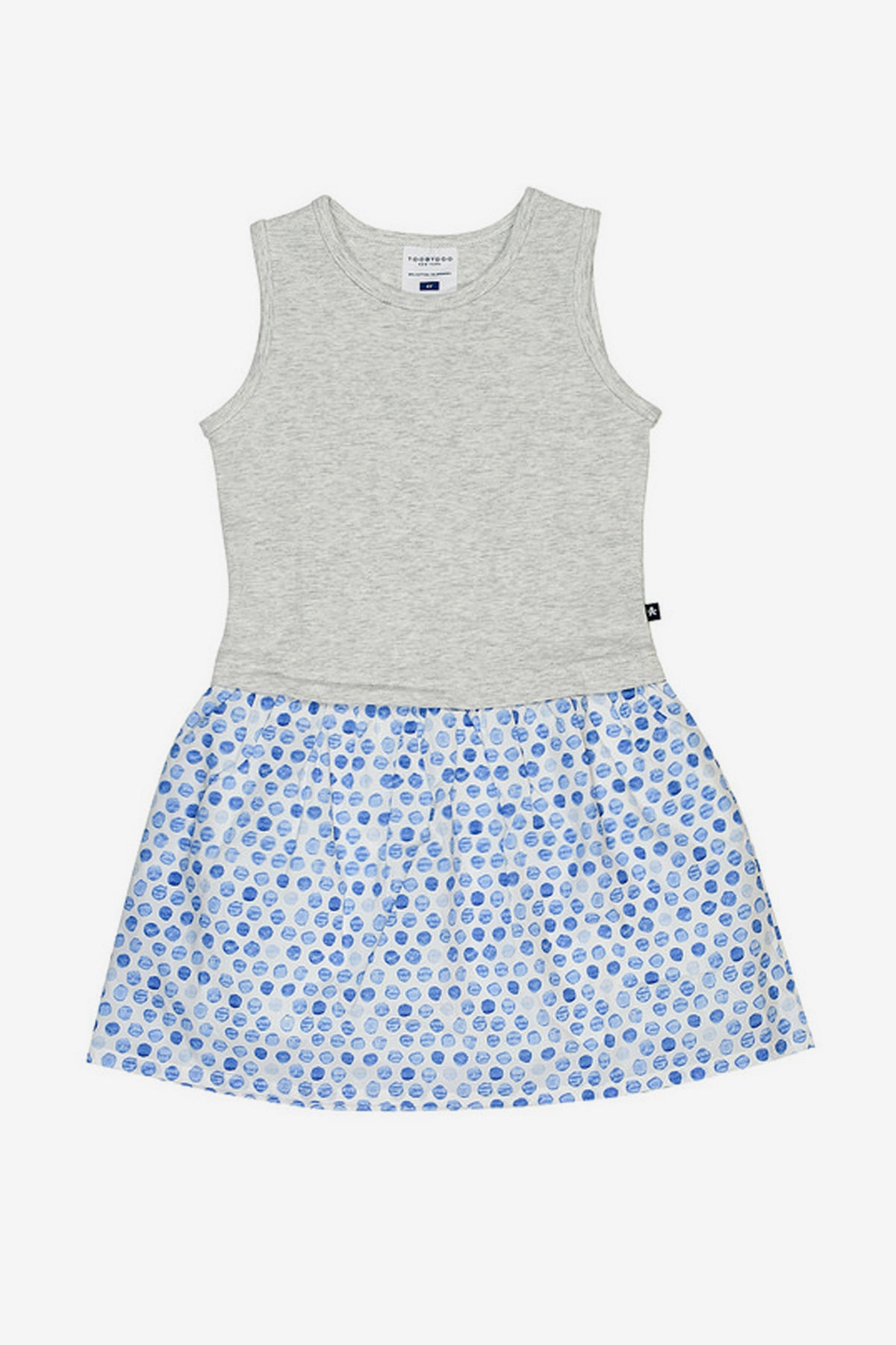 420dc961eb Toobydoo Girls Jersey and Woven Dress - Mini Ruby