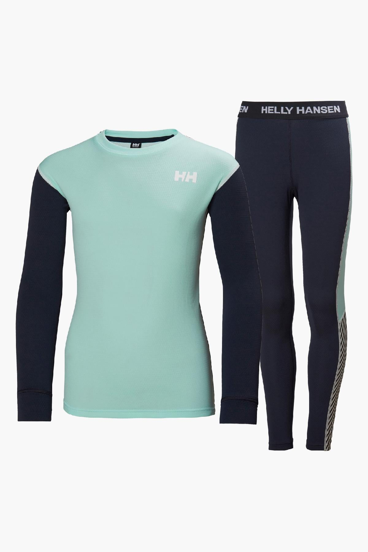 Helly Hansen Jr Lifa Active Set - Blue Tint