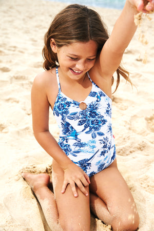 Seafolly Keyhole Girls Swimsuit