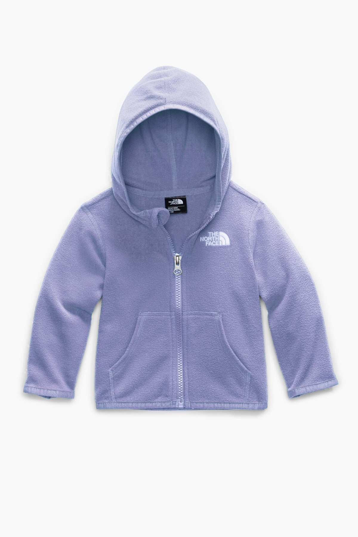 The North Face  Kids Glacier Full Zip Hoodie - Sweet Lavender