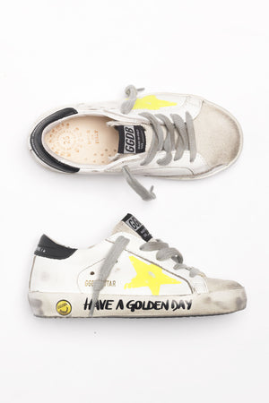 Golden Goose Kids Sneakers Superstar - Have A Golden Day