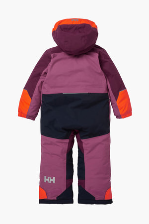 Helly Hansen Kids Snowsuit Tinden - Magenta Haze