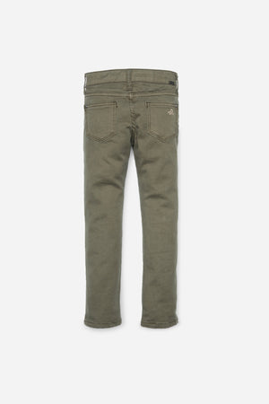 DL1961 Chloe Girls Jeans in Army Green (Little Girls)