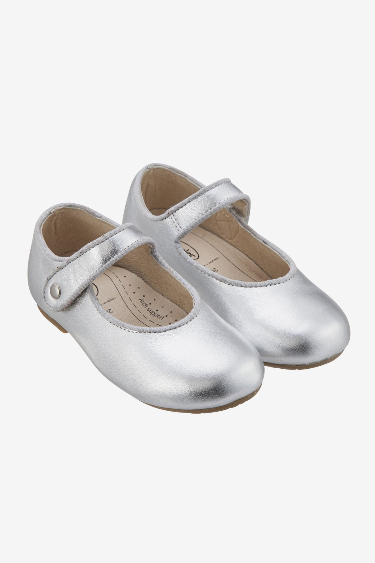 Old Soles Lady Jane Shoe Silver Mini Ruby