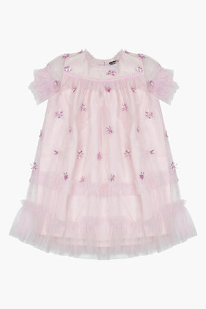 Velveteen Laylani Dress - Pretty In Pink
