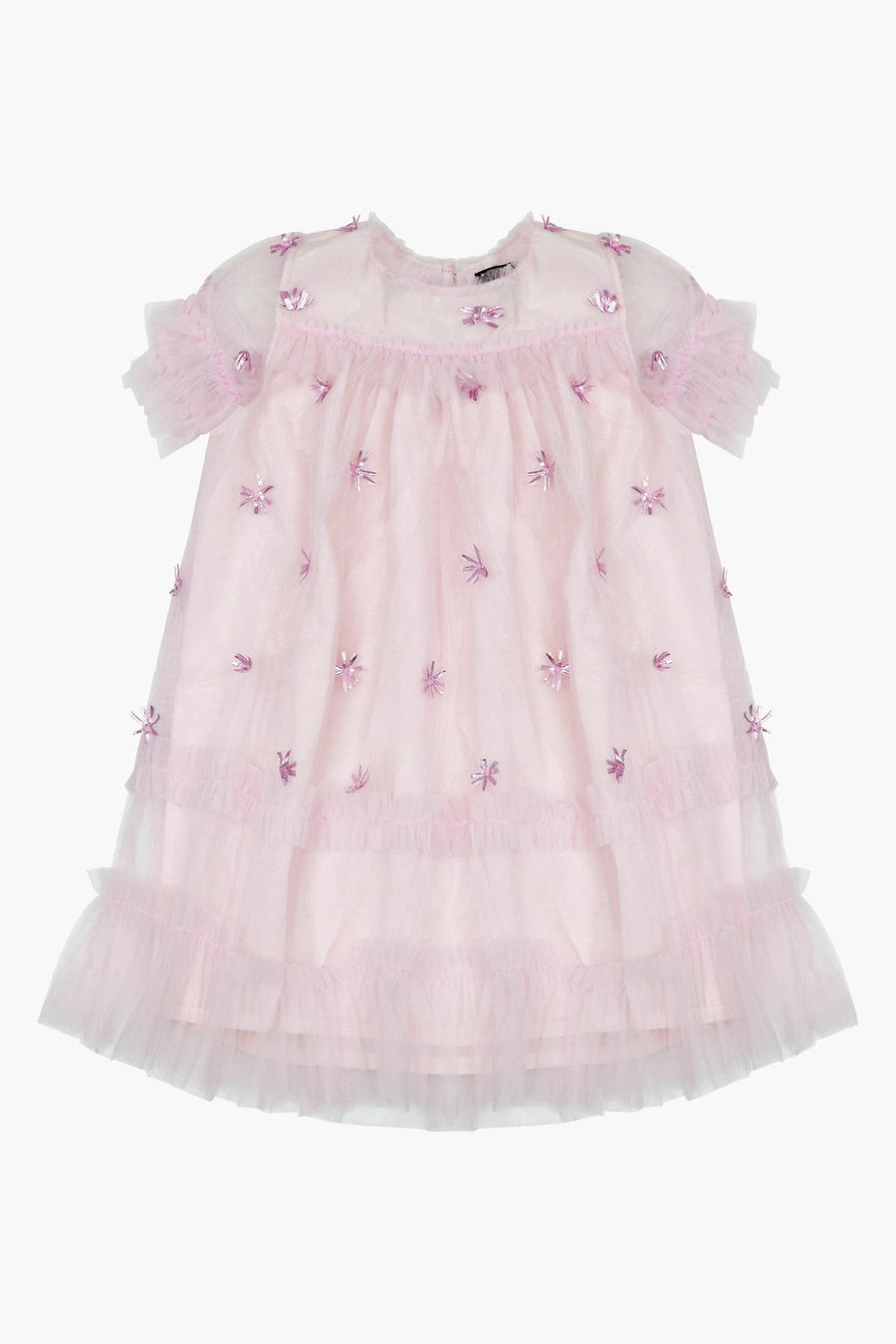 Velveteen Laylani Girls Dress - Pretty In Pink