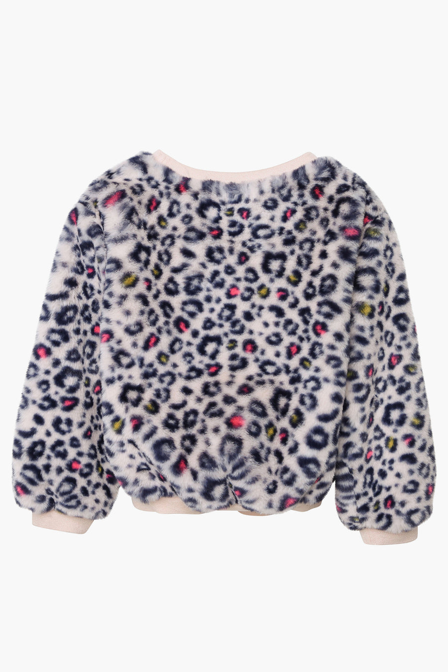 Billieblush Leopard Print Girls Sweatshirt