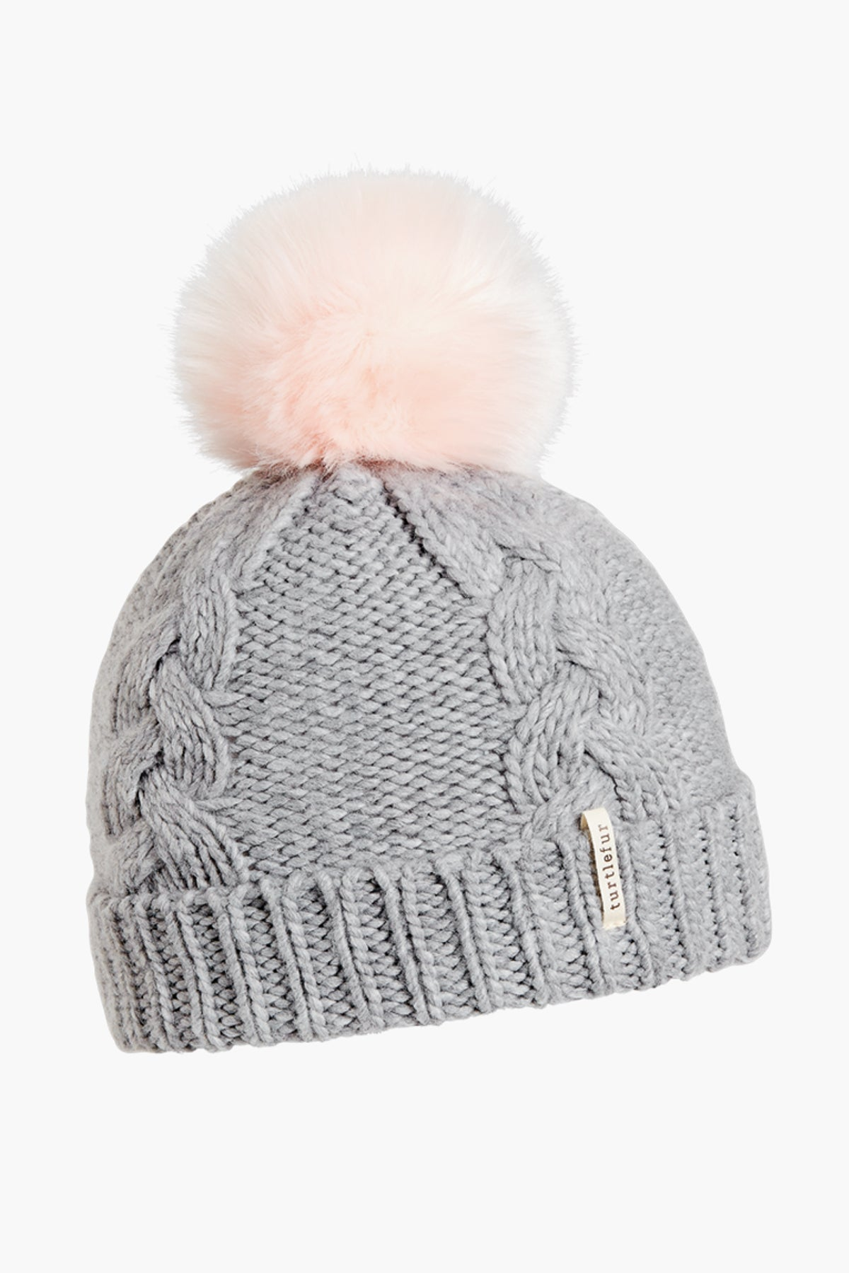 Turtle Fur Lizzy Kids Hat - Smoke