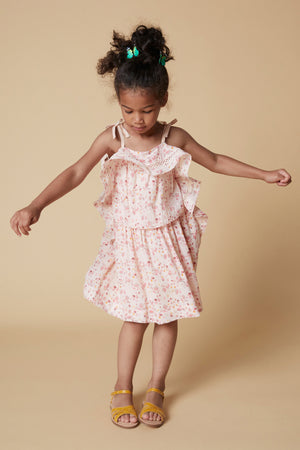 Velveteen Lois Girls Dress