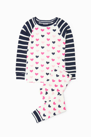 Hatley Lovely Hearts Pajama Set