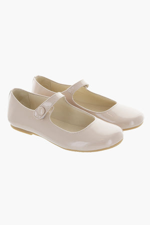 Manuela de Juan Mimi Mary Jane Girls Shoes - Shell