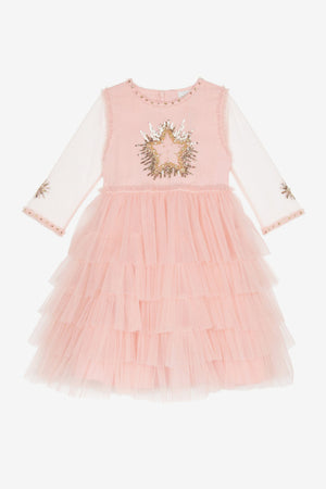 Wild & Gorgeous Moon Dance Girls Dress - Pink