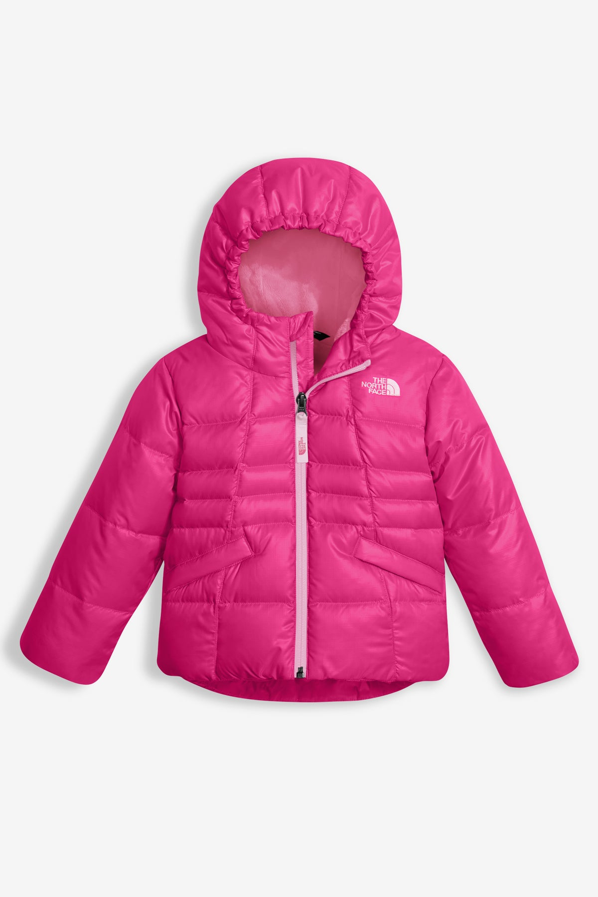 The North Face Little Girls Moondoggy Jacket - Pink e9052892c